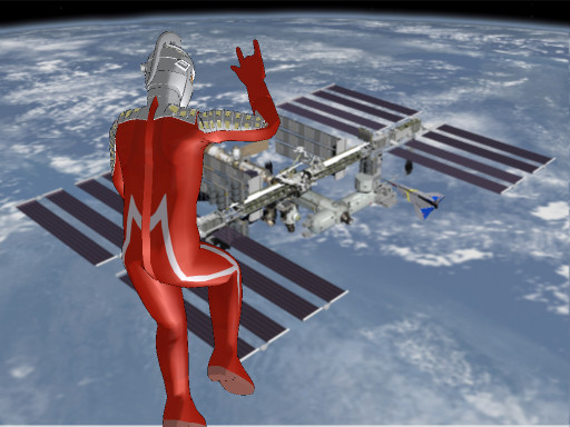 MMD International Space Station