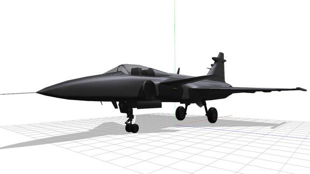 Saab JAS39 部件追加製作