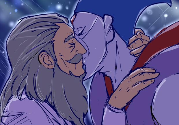 初めてのキスは火薬の味がした