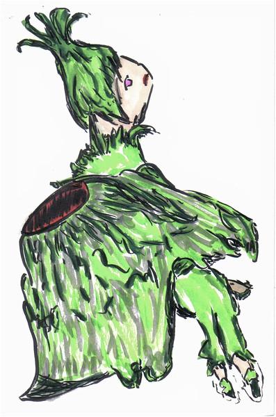 森のカタツムリの精霊