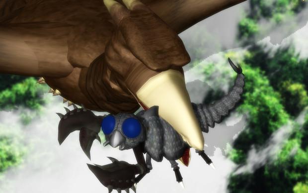 メガヌロン(「空の大怪獣ラドン」より)