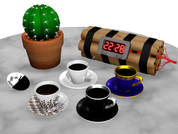 コーヒーとなんとなーくな小物
