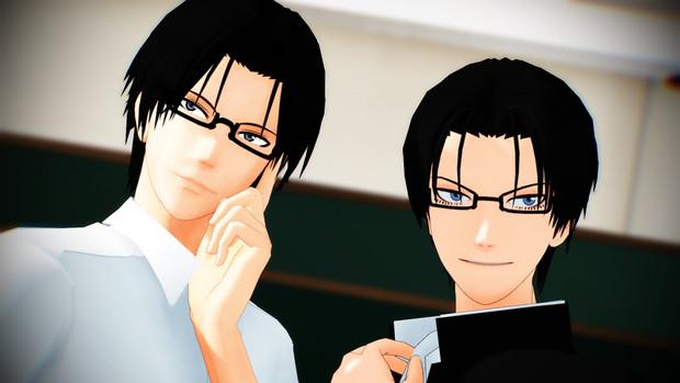 「メガネを返すのだよ!」x2