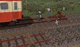 【MMD鉄道】どこでも車止め(狭軌用)【アクセサリ配布】