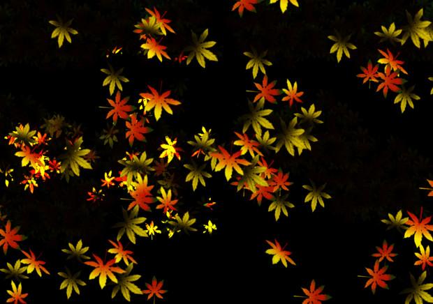 紅葉背景シリーズ にゃぷん さんのイラスト ニコニコ静画 イラスト