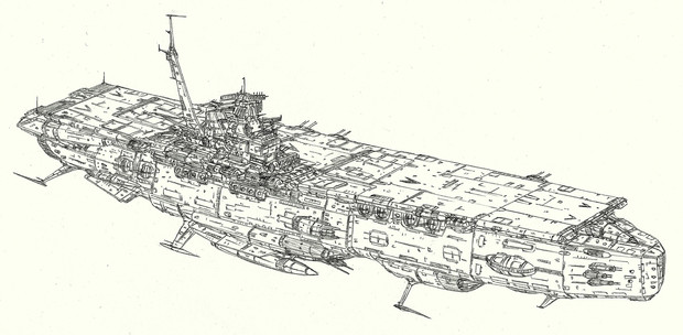 エセックス級主力宇宙航空母艦