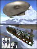 【MMDモデル配布あり】フィクション飛行船