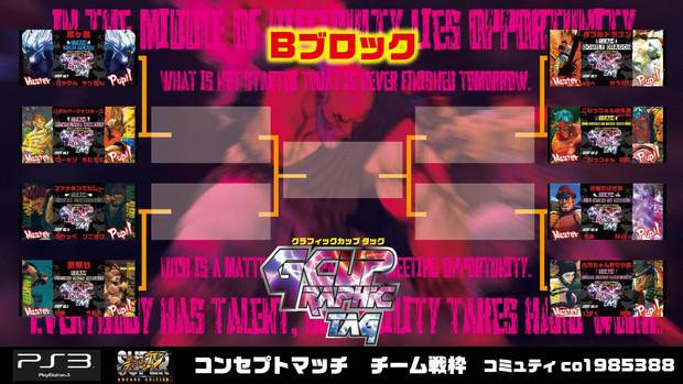 【企画枠】11/17 PS3版 スパⅣチーム戦2on GカップTAG Bブロック