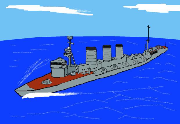 防空巡洋艦