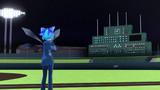 手動スコアボードのある地方球場【MMD改変ステージ配布】
