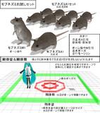 【MMD】モブネズミお試しセット【モデル配布】