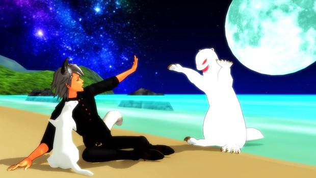 Ebiちゃんと小動物さん、ノロイと遭遇