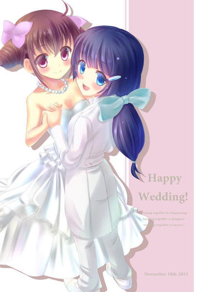 みゆれい結婚一周年