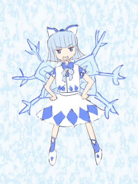 夢世界の冷凍妖精