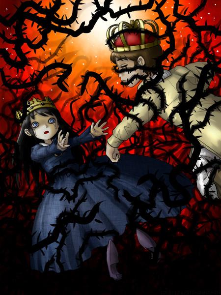 黒き茨の姫