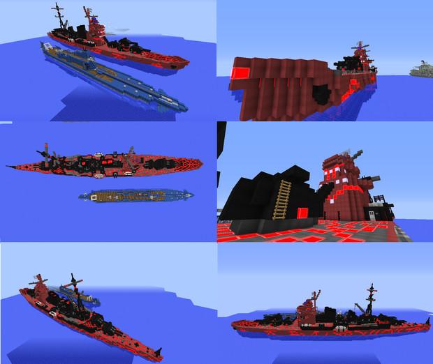 【Minecraft】霧の早期警戒艦タカオ【紹介6作目】