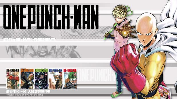 「ワンパンマン」コミックス第5巻発売記念壁紙(1920×1080)