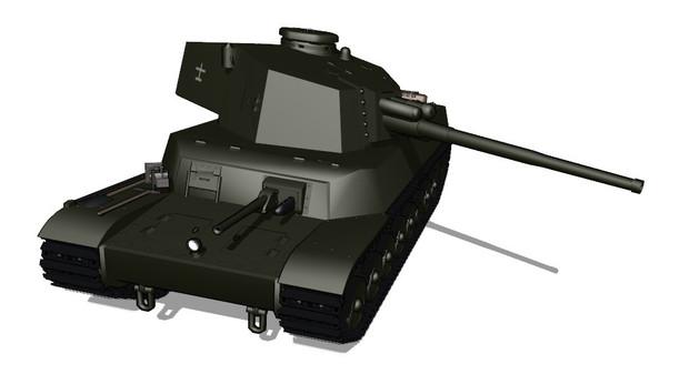 五式中戦車 配布します!