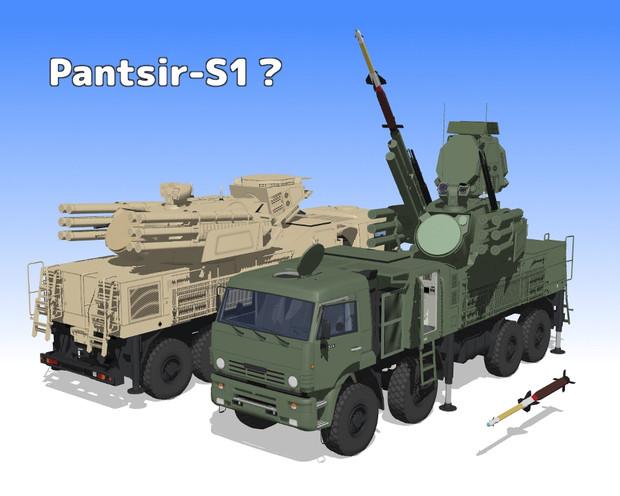 ロシアの自走式近距離防空システム