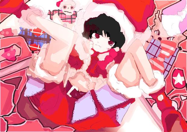 弟系サンタのクリスマス壁紙