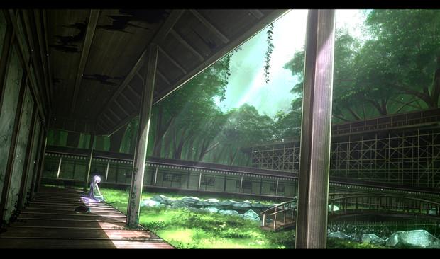 森中の庭園
