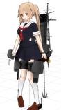 【モデル更新】白露型兵装セット