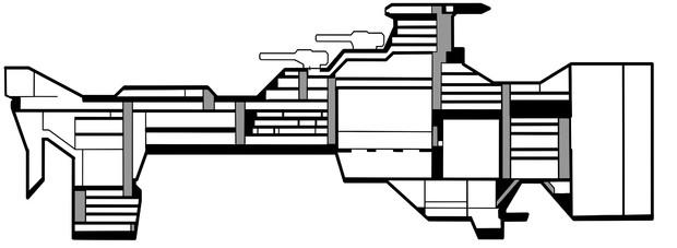 【Minecraft】ヘイムダル級艦内図【ヘイムダル級】