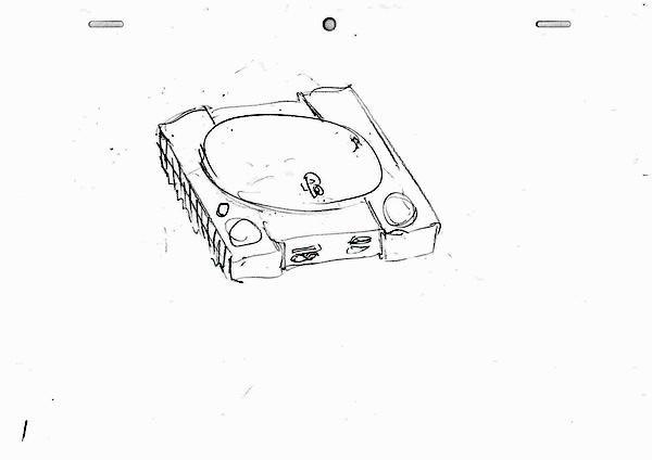 プレステをコントローラーで破壊するアニメーション