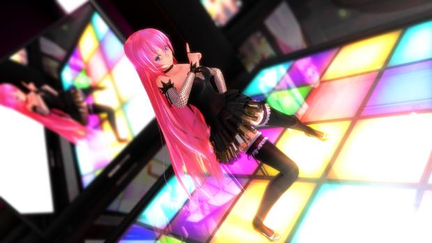 【MMD】ルカで「SweetDevil」.1