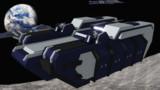 【配布】フォルトゥナ級_高速重装甲輸送艦