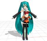『MMDモデル配布予告?』那珂ちゃん人形『どこかの動画に出てくるかも?』