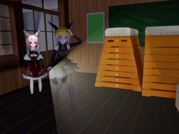 部室には幽霊が出るらしい...