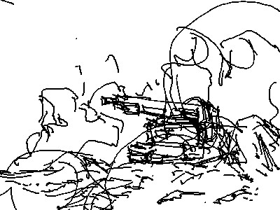 高出力過粒子砲のアニメーション