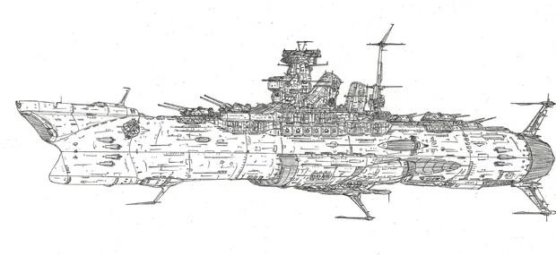 宇宙巡洋戦艦アマギ「自作艦」