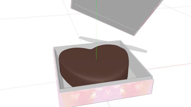 手作り風チョコアクセサリ