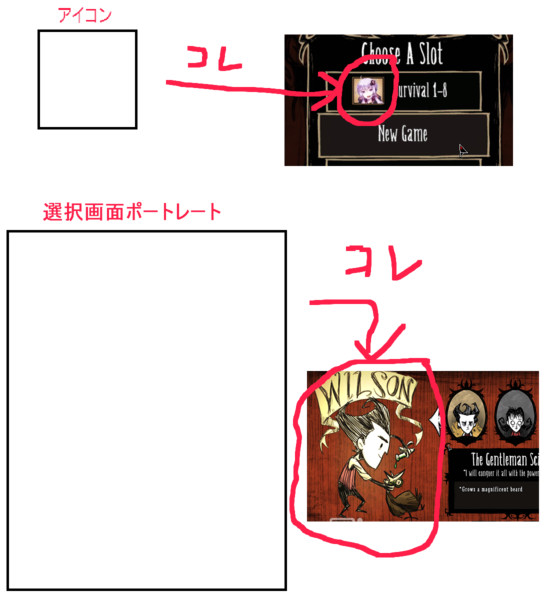 【ゆかりんMOD化計画】 キャラ選択画面サンプル