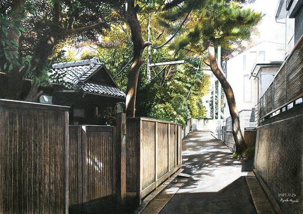 静寂 新宿区内藤町