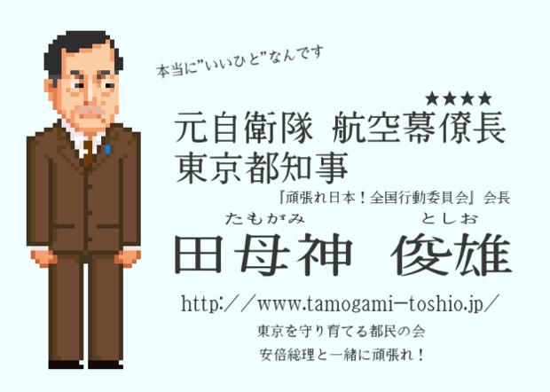 田母神俊雄 東京都知事