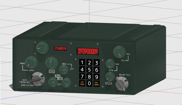 【SonicAngelsの小道具】軍用無線機