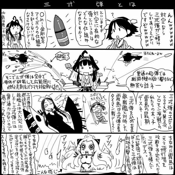 【艦これ】三式弾とは【史実?】