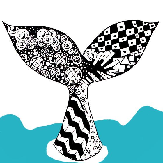 イラストクジラのしっぽ サカ叉 さんのイラスト ニコニコ静画