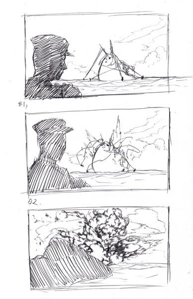 り陸奥たか爆発の瞬間