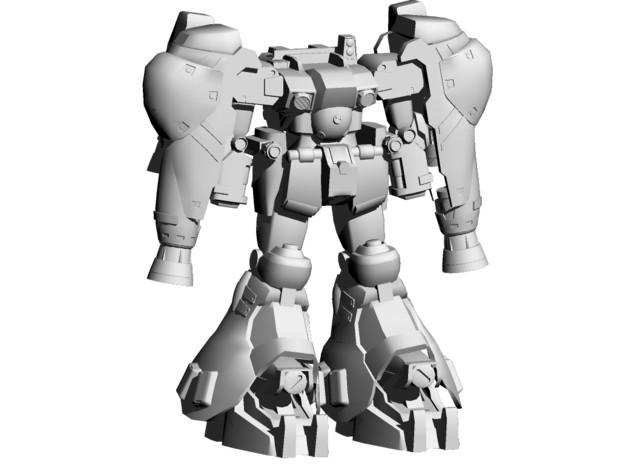 MMD用 ガンダムGP02モデル 製作進捗