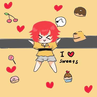 お菓子大好き!