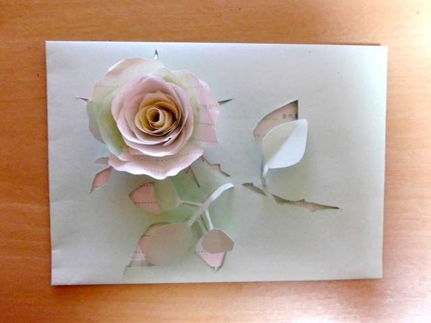 薔薇の手紙を作ってみた