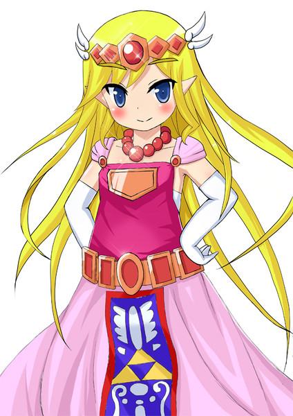 ゼルダ姫。