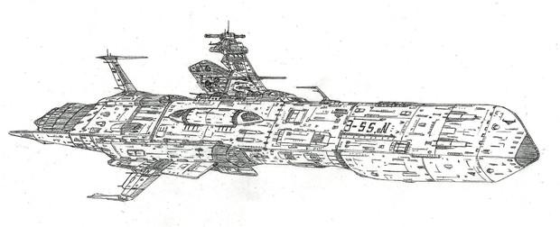 プラウダ型潜宙艦「自作艦」