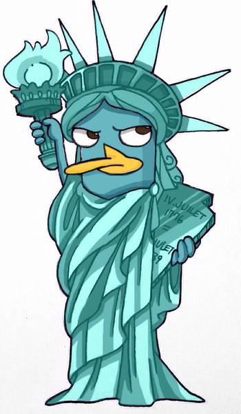 自由の女神像ペリー くまのはるさん さんのイラスト ニコニコ静画