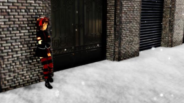 雪の待ち合わせ