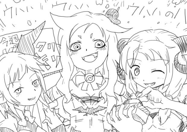 MMDオリジナル3悪